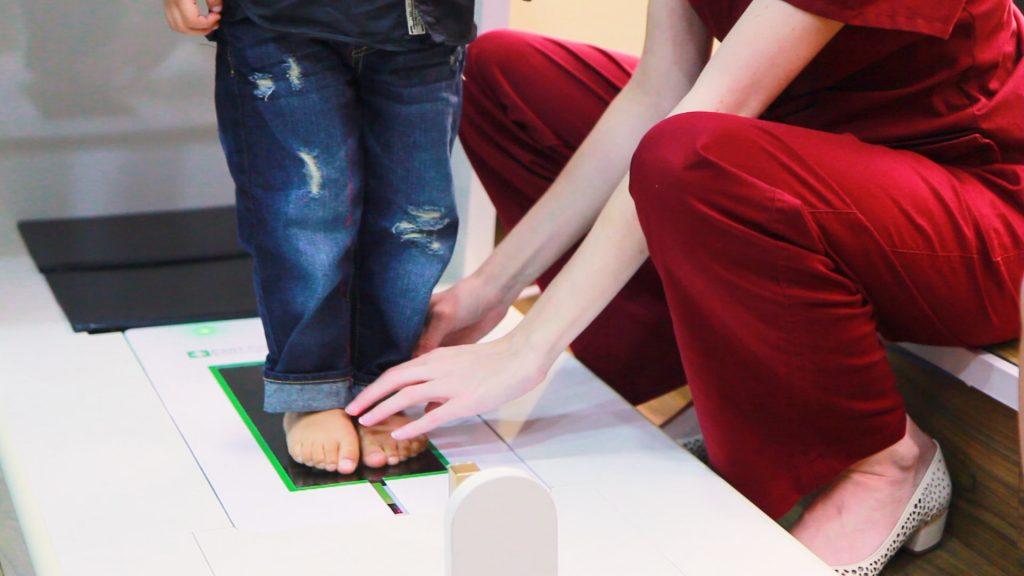 Children Foot Scanning | East Coast Podiatry