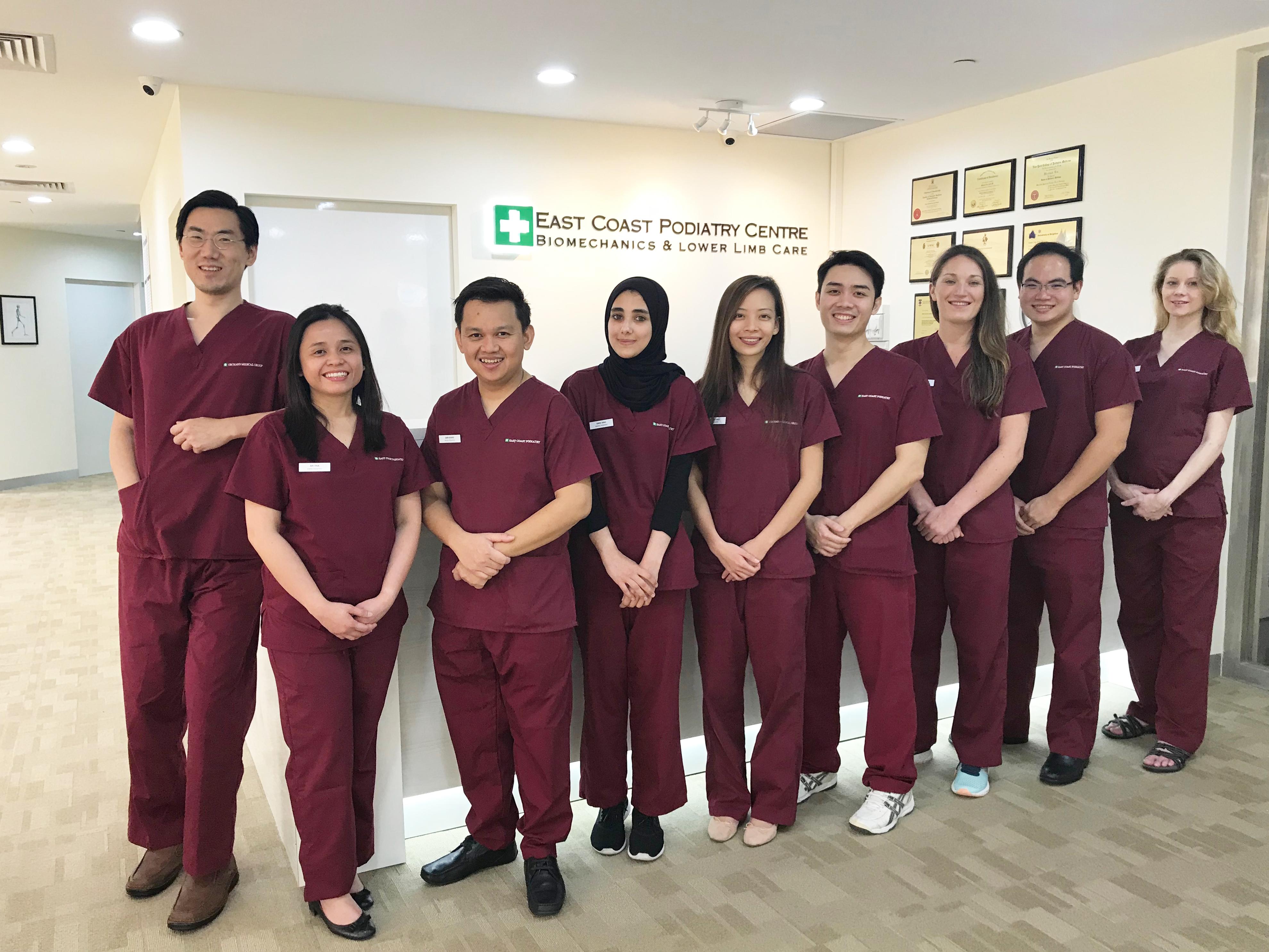 Our Podiatrists | East Coast Podiatry