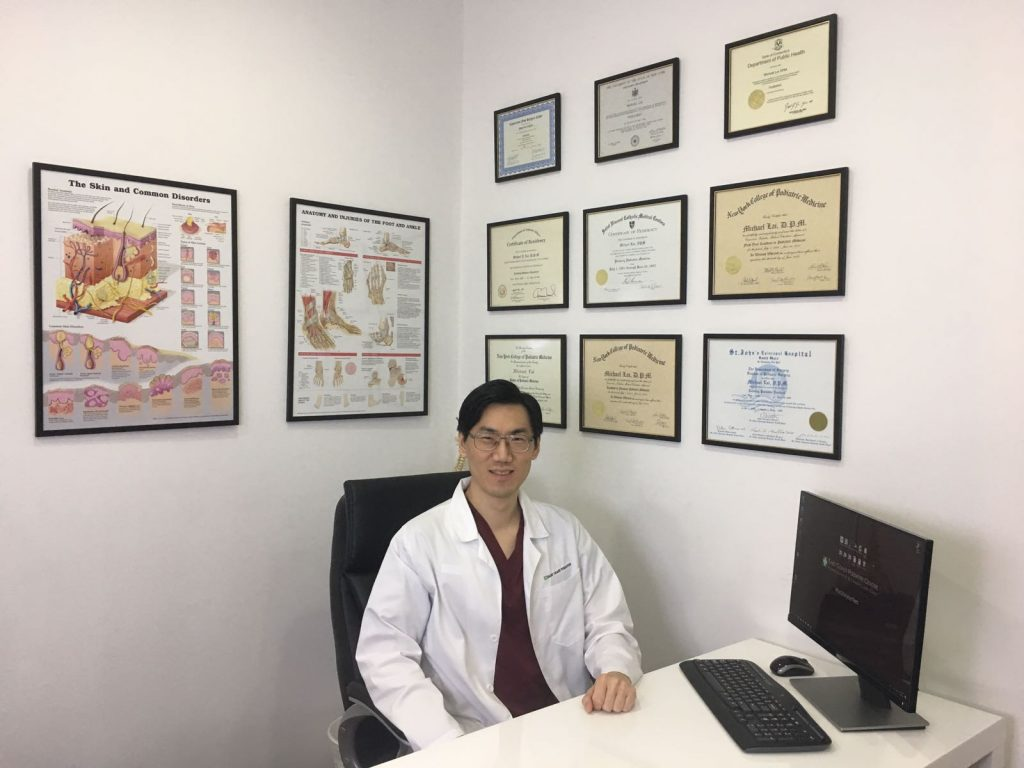 Dr Michael Lai | East Coast Podiatry