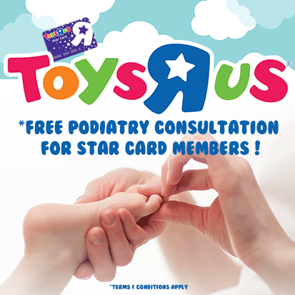 Toys R Us & Orchard Clinic
