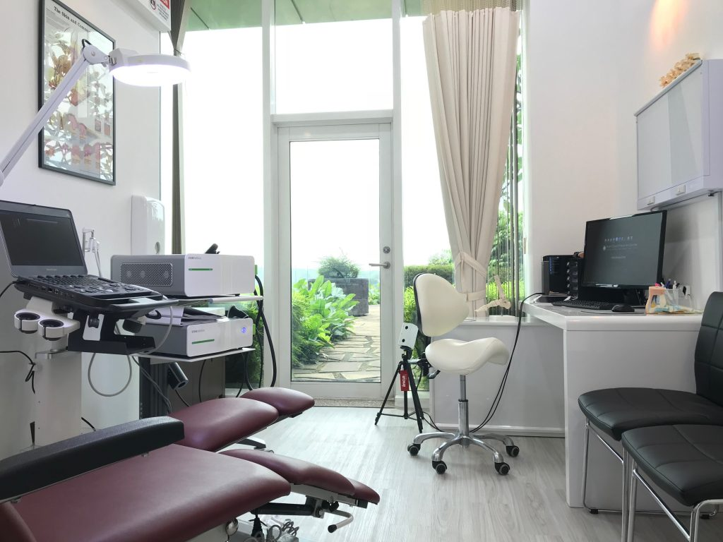 Consultation Room at East Coast Podiatry Novena