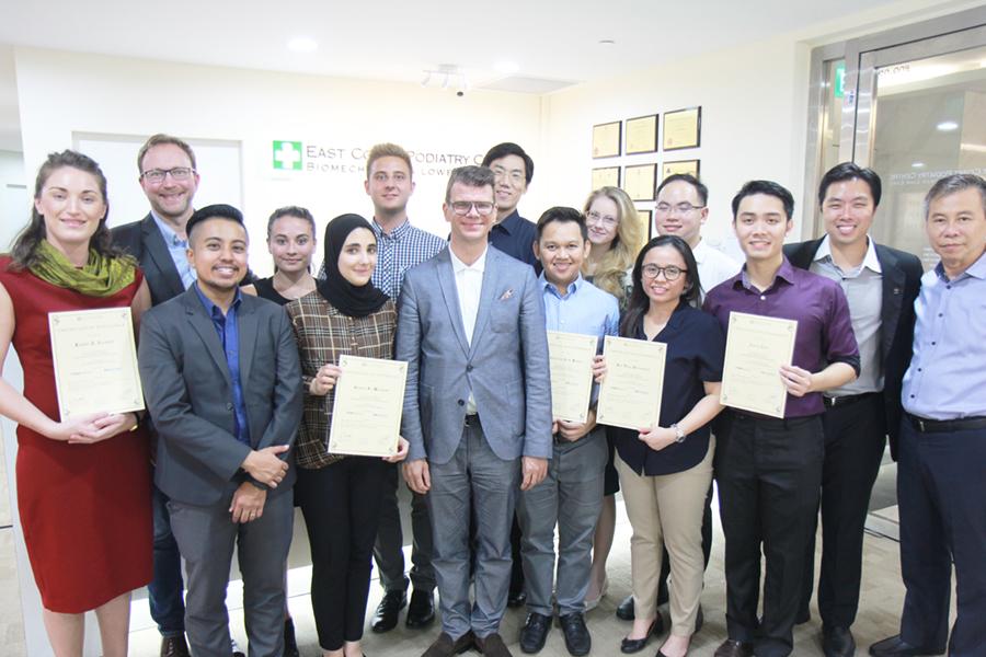 Dr Karsten and ECPC Team | East Coast Podaitry