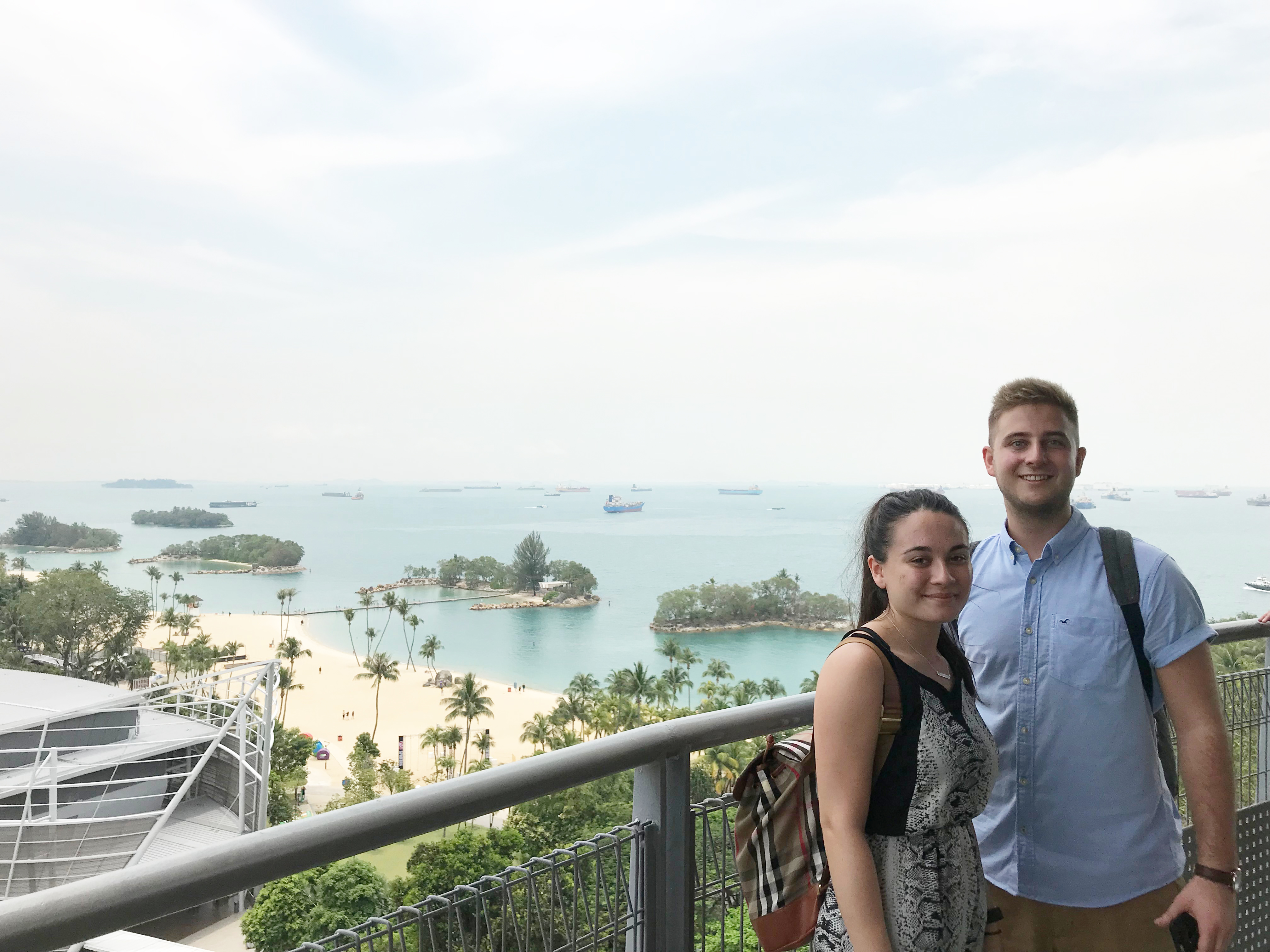 Lewis and Chantelle during Company Outing | East Coast Podiatry