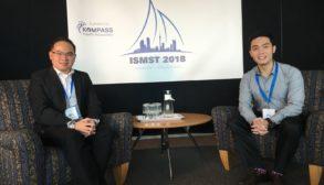 Louis & Ben at ISMST | East Coast Podiatry