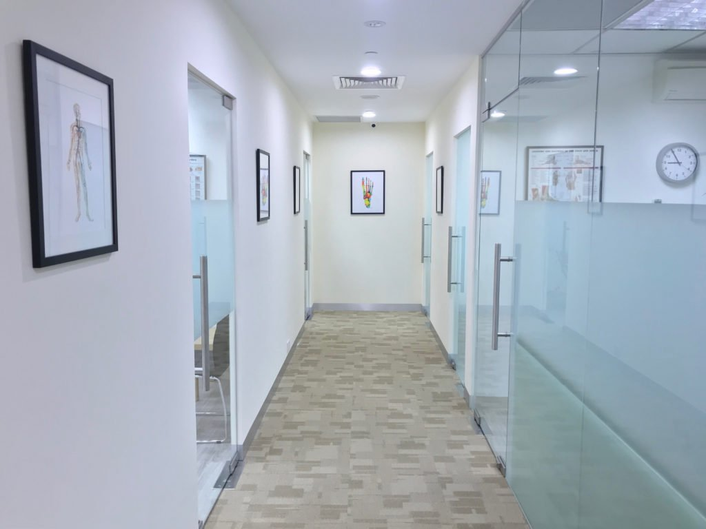 OC Clinic Corridor | East Coast Podiatry