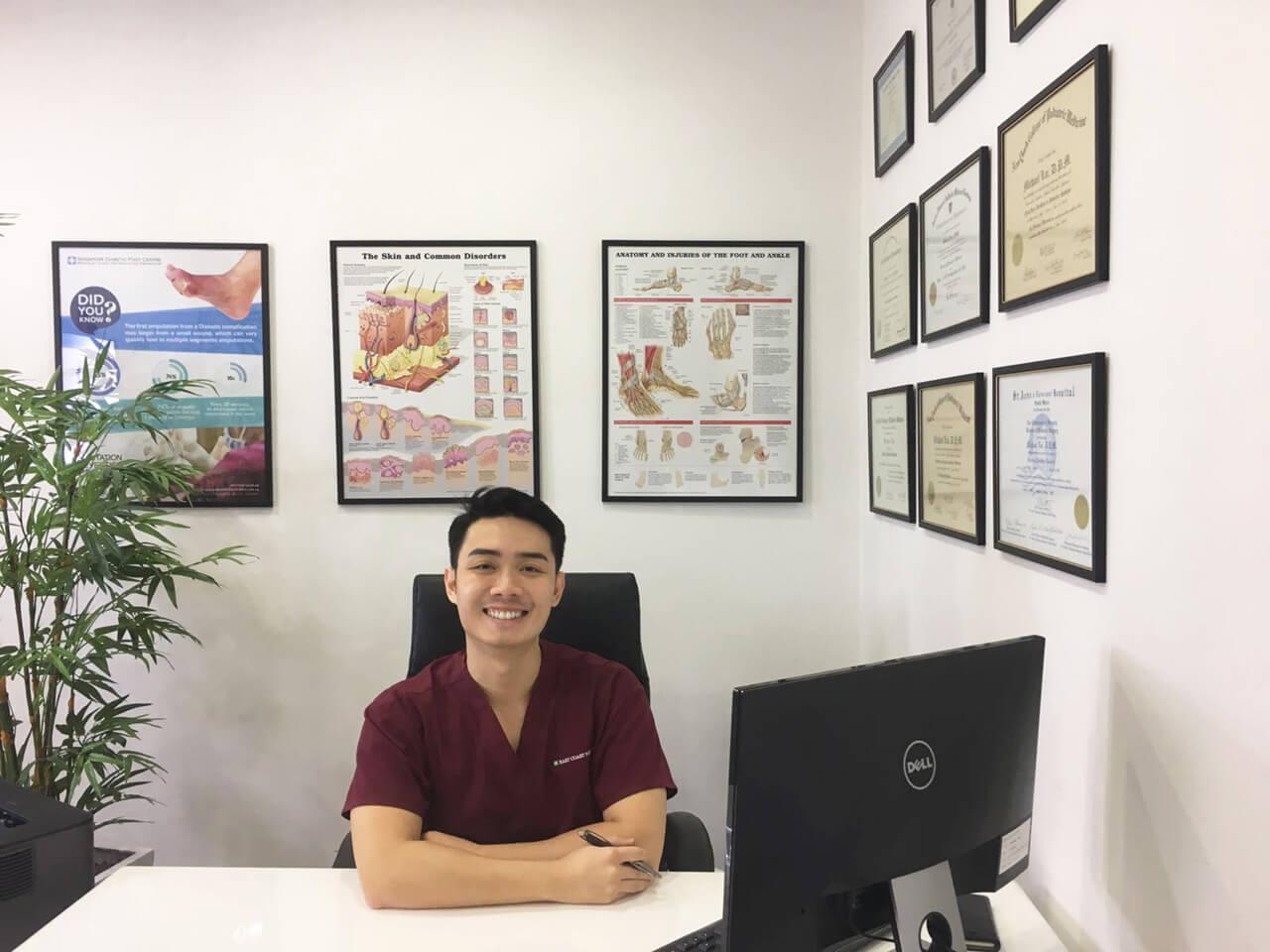 East Coast Podiatry Podiatrist | Louis Loy