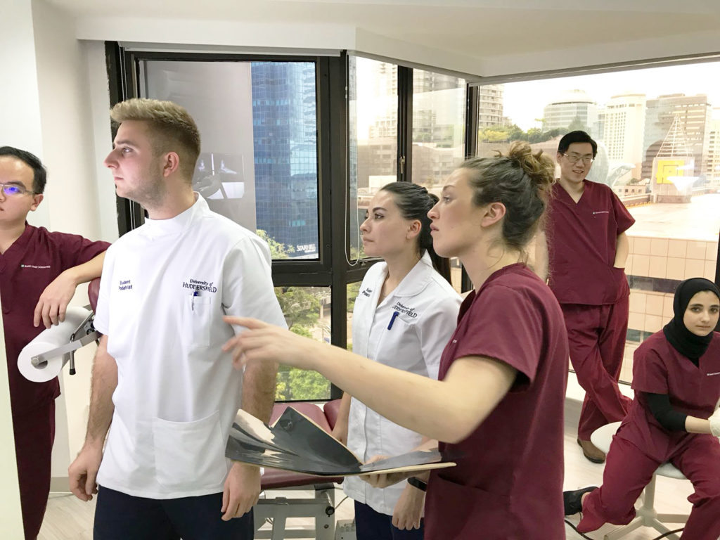 Podiatrists Discussion with Interns   East Coast Podiatry