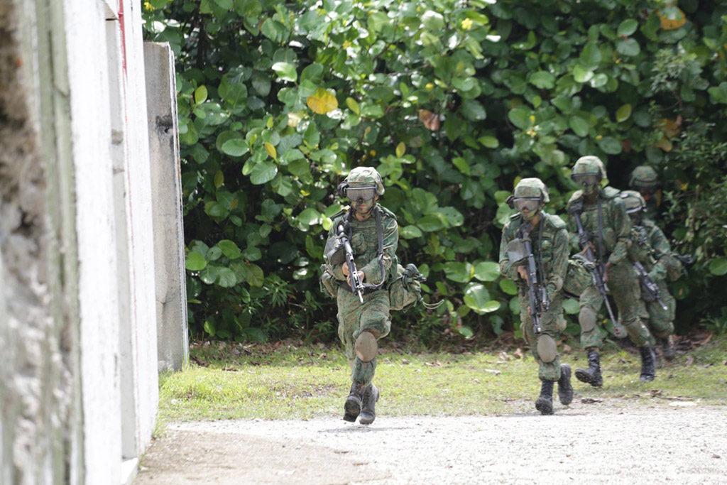 ECPC | SAF Soldiers