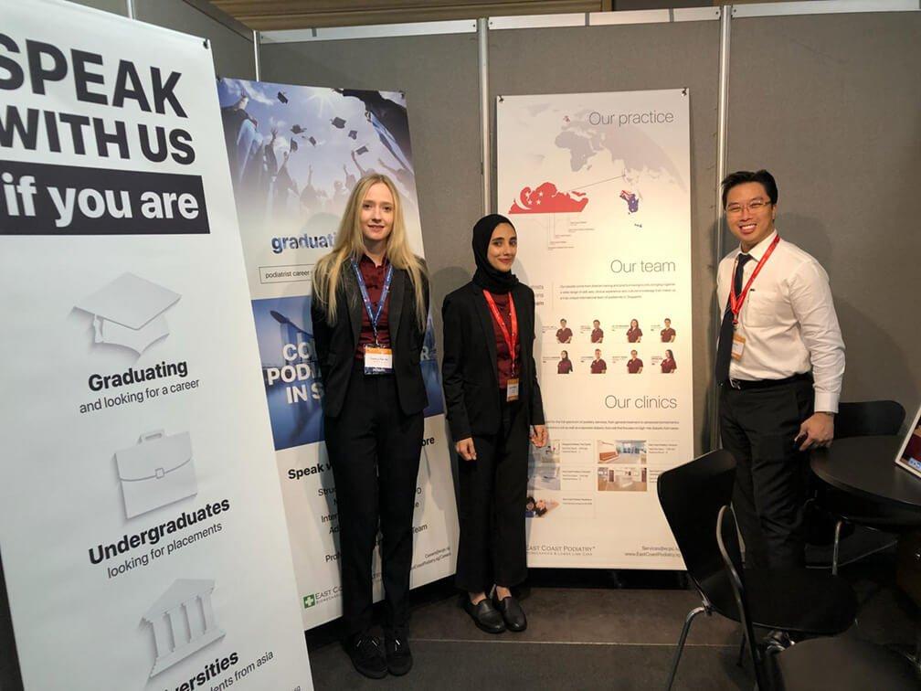 COP 2018 | ECP Podiatrist Afnan & Charlotte