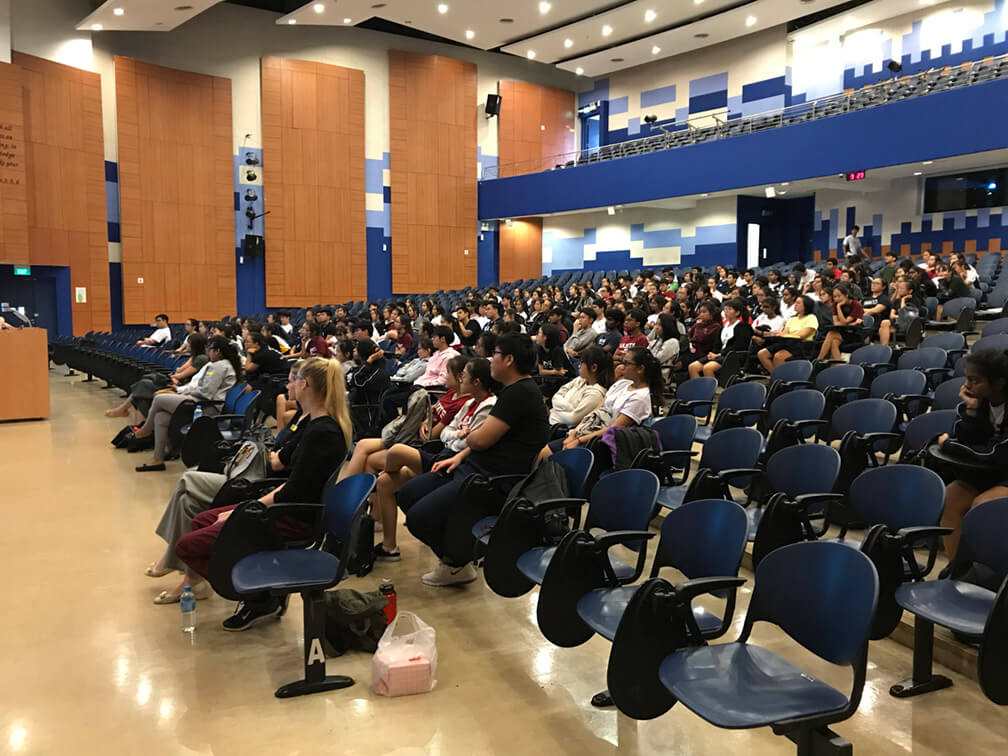 CareerSAdvance | Students attending the talk