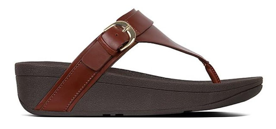 ECP   FitFlop Leather Thongs