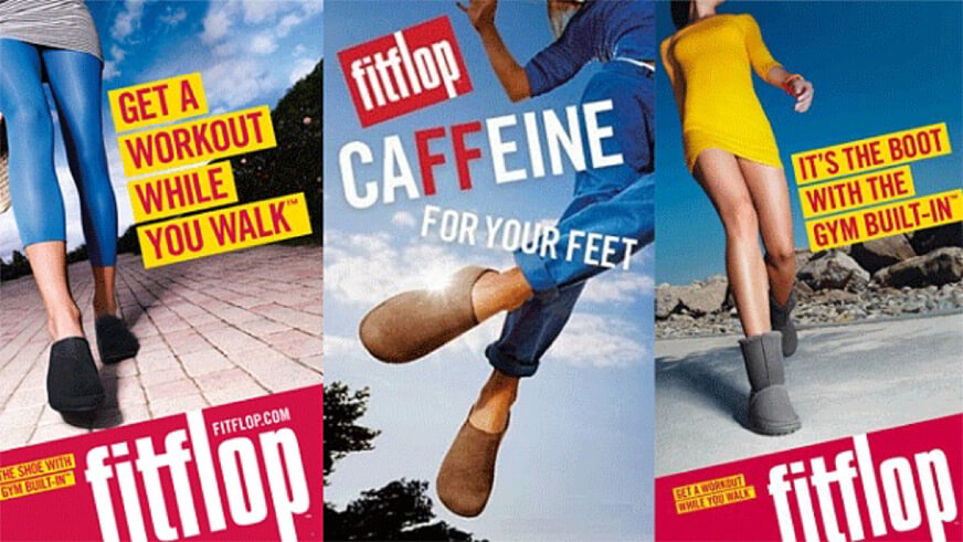 ECP | Old FitFlop advertisements
