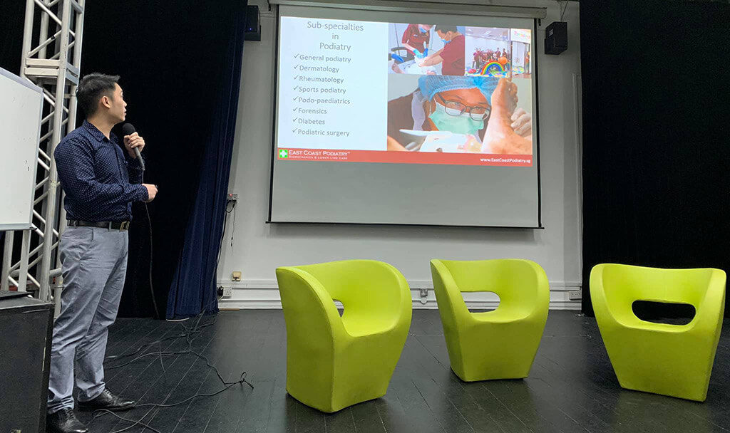 VJC Careers Event 2019 | Podiatrist Louis Loy Presentation