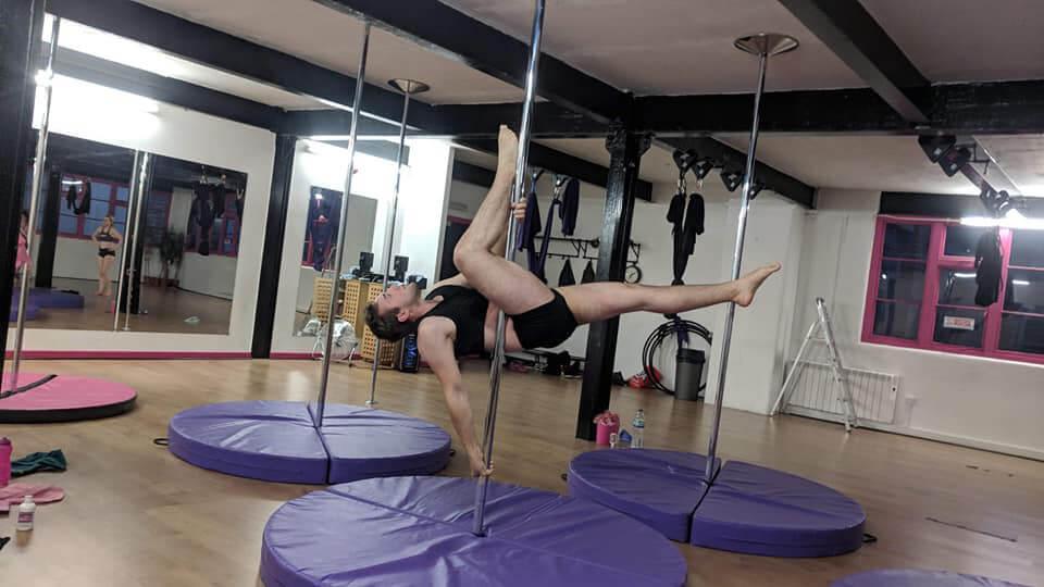 Jamie a Male Pole Dancer