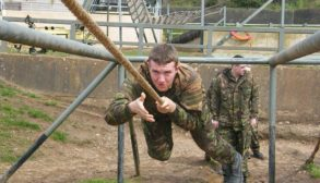 Jamie in National Service