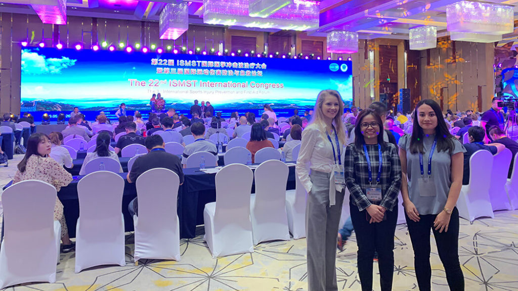 ISMST Beijing 2019 | Podiatrist Georgina, Ari and Chantelle