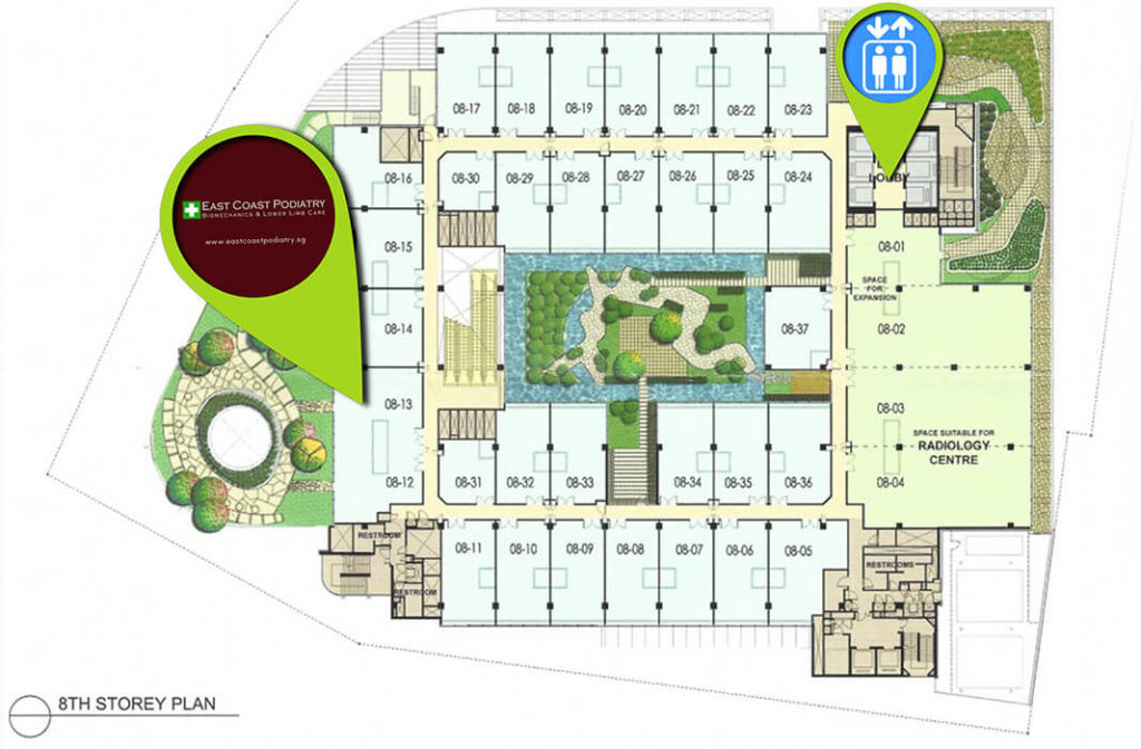 ECP Novena Clinic Map