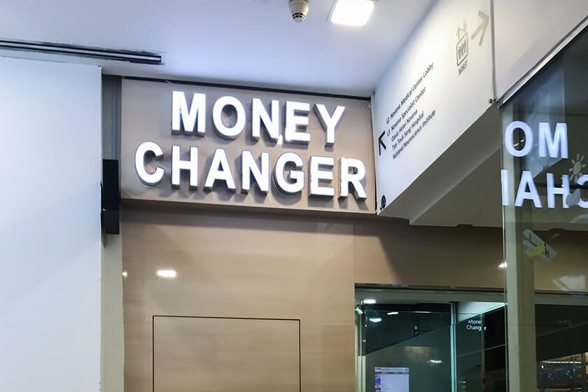ECP Novena Clinic Direction | Money Changer