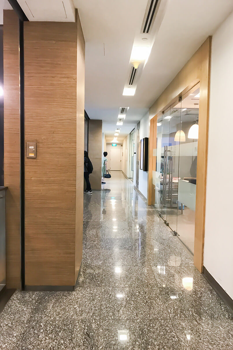 ECP Novena Clinic Direction | Medical Center Corridor 2