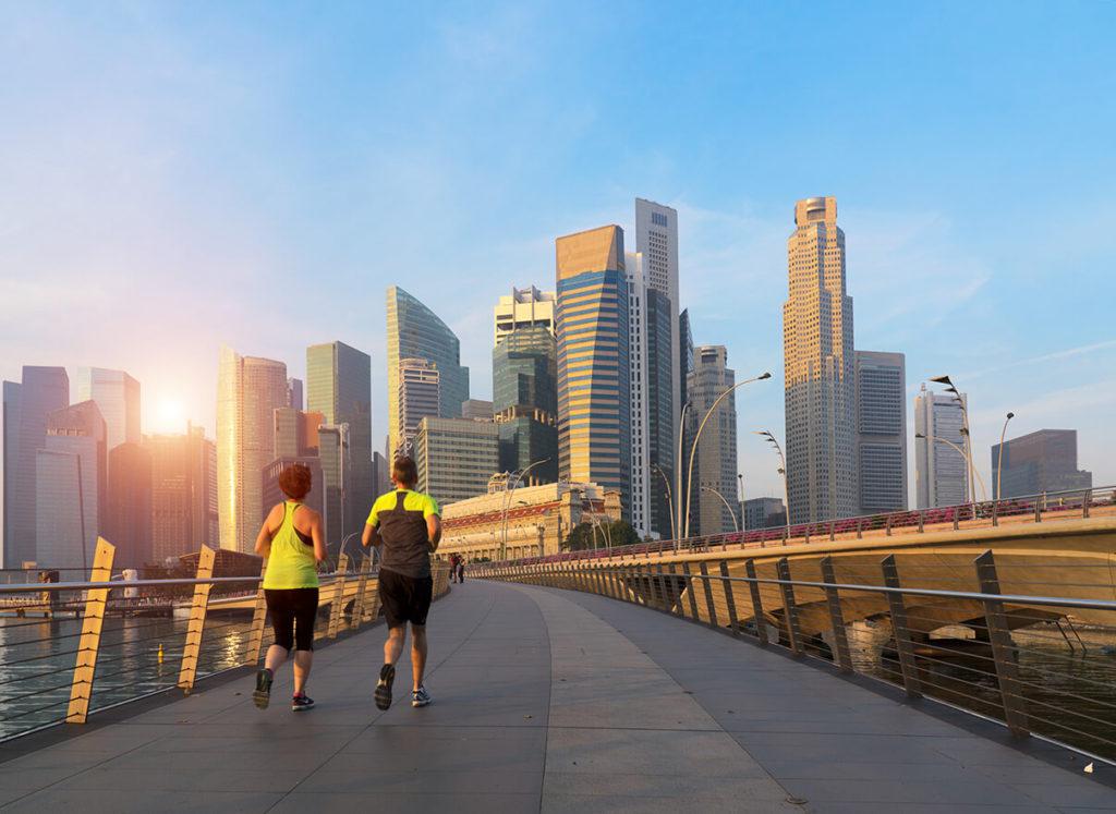 Singapore Outdoor Running