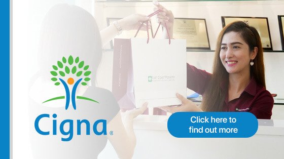 East Coast Podiatry with Cigna Insurance