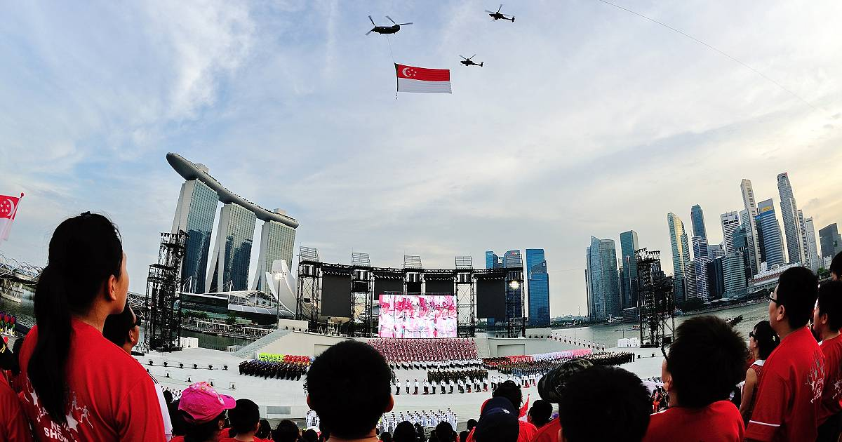 Iconic National Day Parades – 1966 to 2020