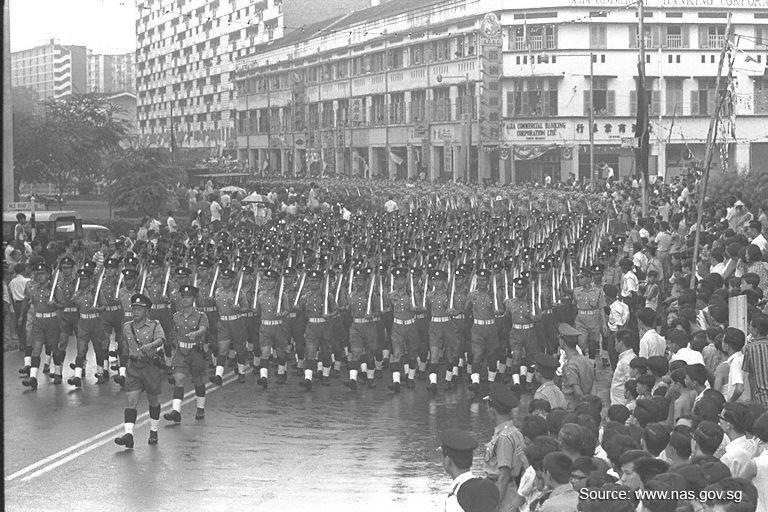 NDP 1968 Marching Band