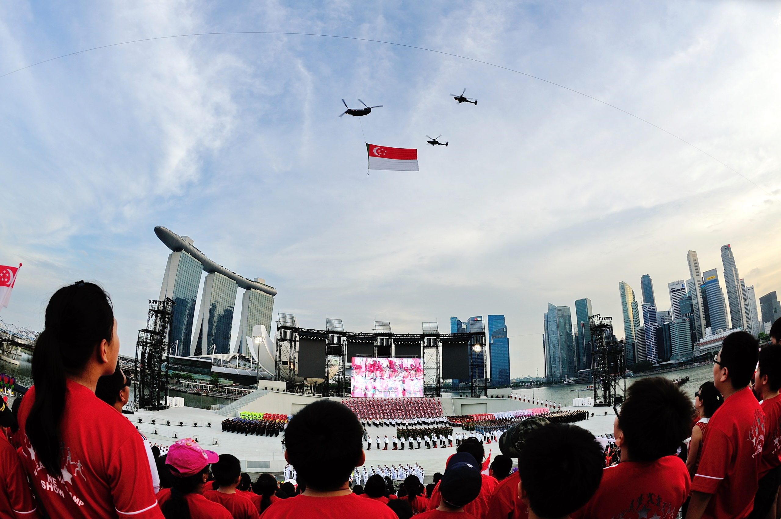 National Day Parade + Flag Flyover