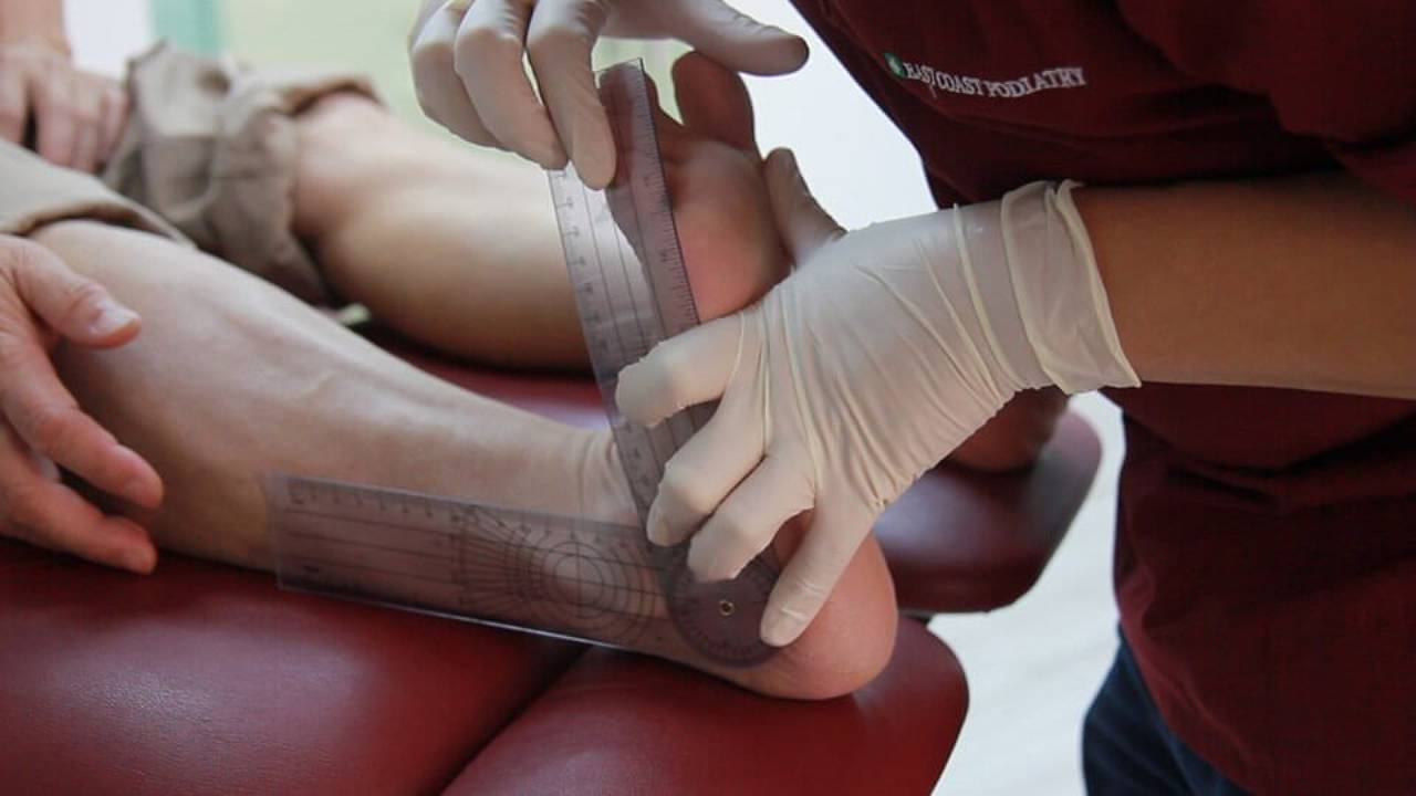 ECPC | Hypermobility Ankle Joint Measurement