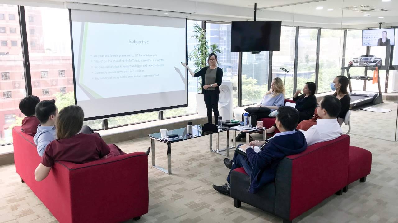 Grace's Presentation | East Coast Podiatry