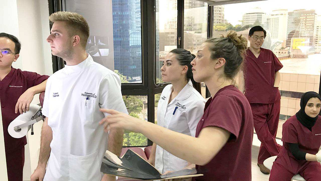 Podiatrists Discussion with Interns | East Coast Podiatry