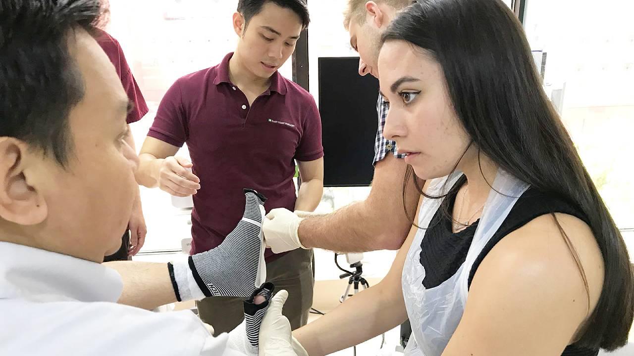 Podiatrist Sani Trained Chantelle | East Coast Podiatry