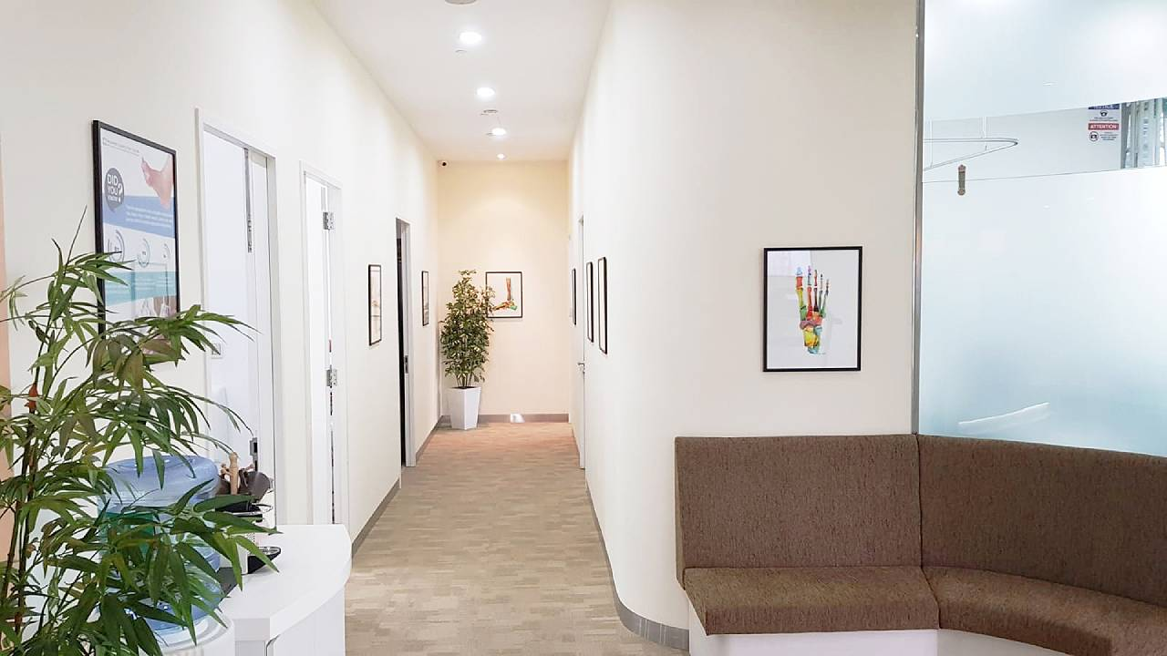 Novena Corridor | East Coast Podiatry