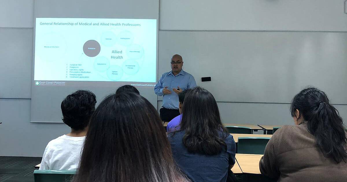 Intro to Podiatry with Singapore Polytechnic